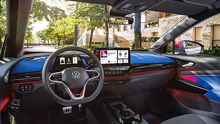 VOLKSWAGEN: ID.4 EV gets 295bhp GTX range-topper Interior