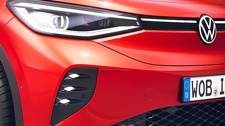 VOLKSWAGEN: ID.4 EV gets 295bhp GTX range-topper Front Bumper