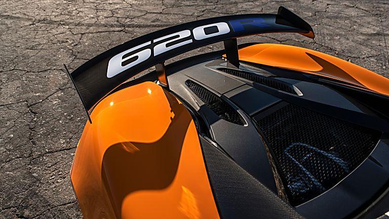 Review: McLaren 620R Rear Wing