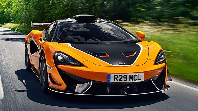 Review: McLaren 620R Hero Front