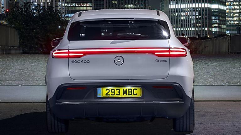 Review: Mercedes-Benz EQC 400 Rear
