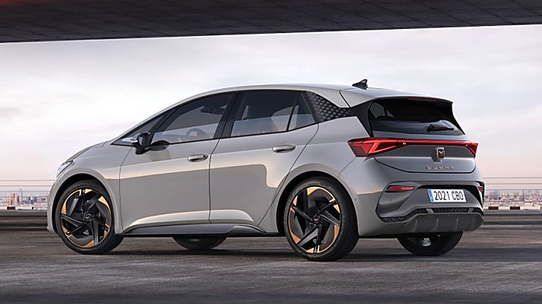 CUPRA: Enter the all-new Born sporty EV hatch Hero Rear
