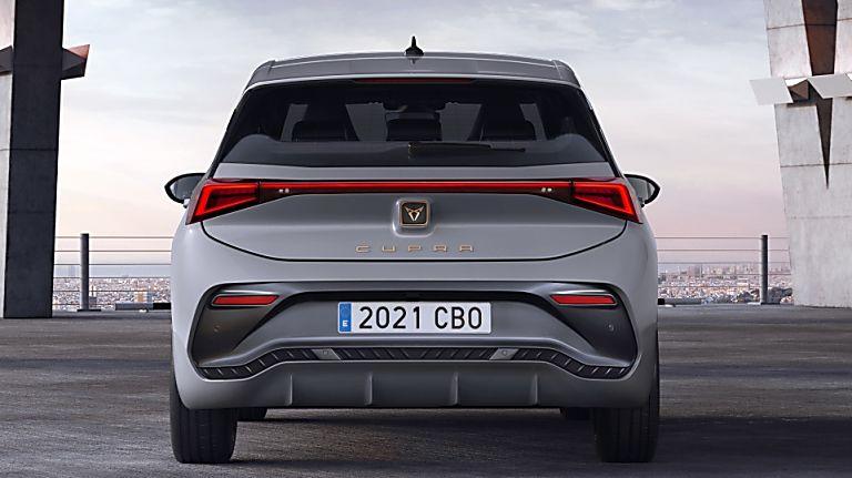 CUPRA: Enter the all-new Born sporty EV hatch Rear
