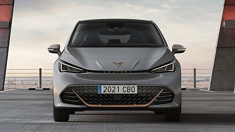 CUPRA: Enter the all-new Born sporty EV hatch Front