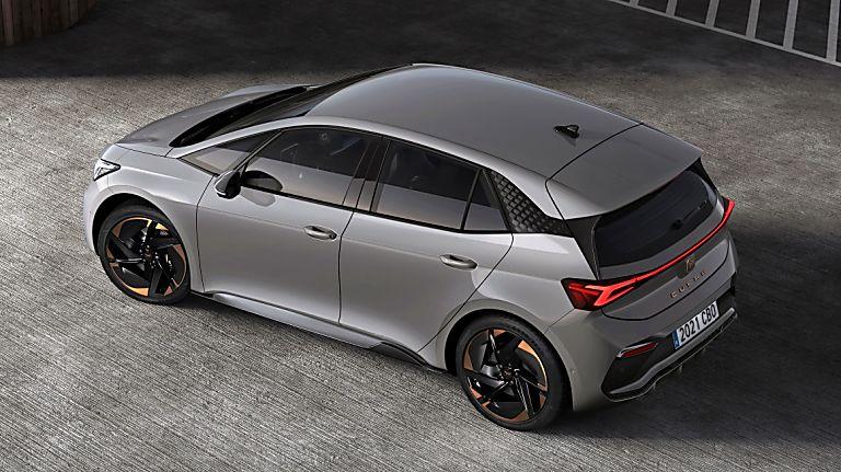 CUPRA: Enter the all-new Born sporty EV hatch Top