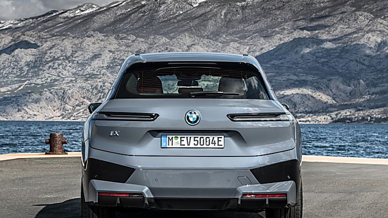 BMW: Techs and Specs for all-new iX eSUV announced Rear