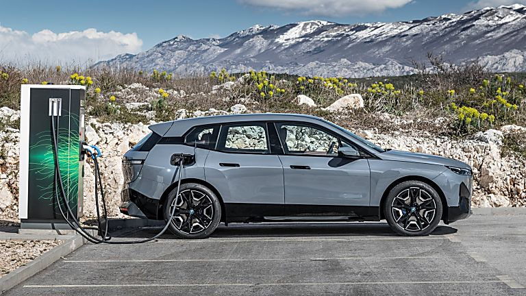 BMW: Techs and Specs for all-new iX eSUV announced Interior Charging
