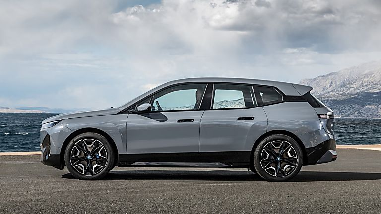 BMW: Techs and Specs for all-new iX eSUV announced Side