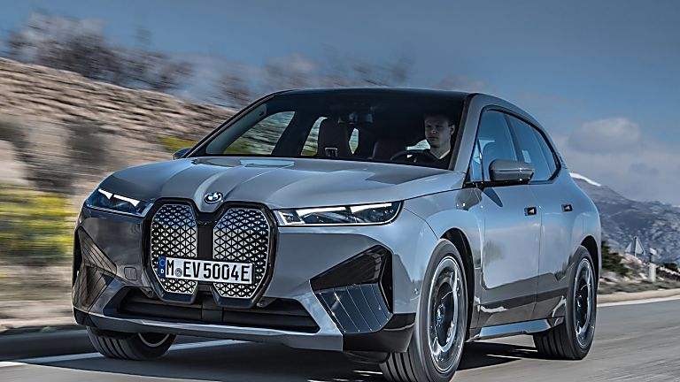 BMW: Techs and Specs for all-new iX eSUV announced Hero Front