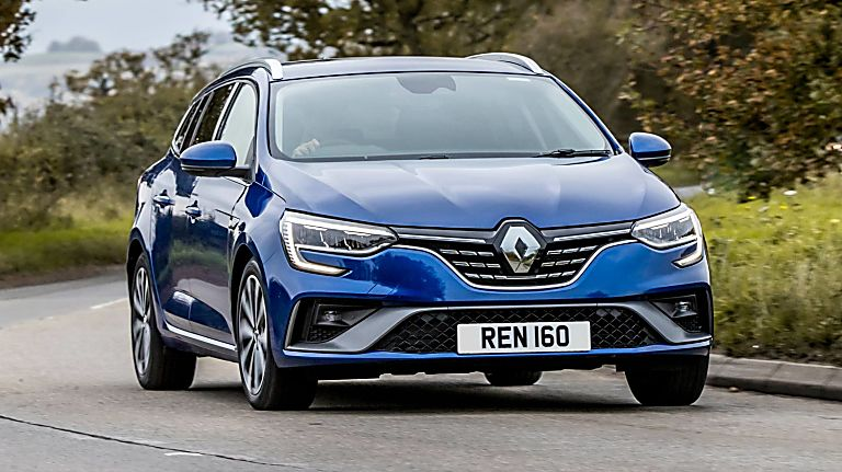 Review: Renault Mégane Sport Tourer E-Tech - Hero Front