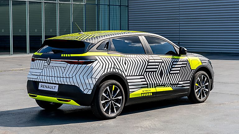 RENAULT: Pre-production images of Mégane E-Tech Electric released Rear