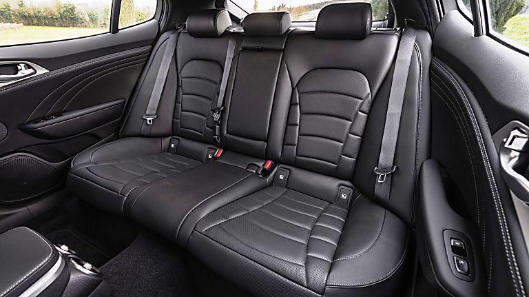 Review: KIA Stinger GT S Interior Rear