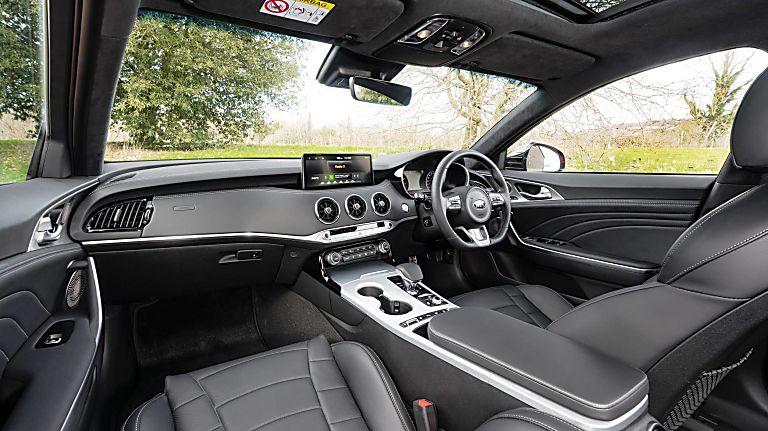 Review: KIA Stinger GT S Interior Front