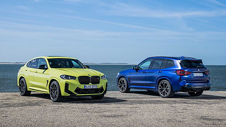 BMW: 2021 X3 and X4 M Competition models revealed Hero