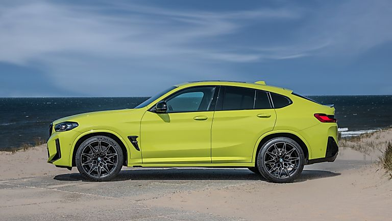BMW: 2021 X3 and X4 M Competition models revealed X4 Side