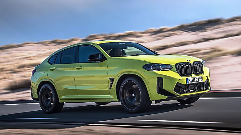 BMW: 2021 X3 and X4 M Competition models revealed X4 Front