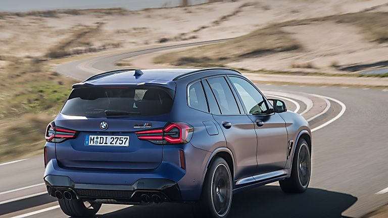 BMW: 2021 X3 and X4 M Competition models revealed X3 Rear