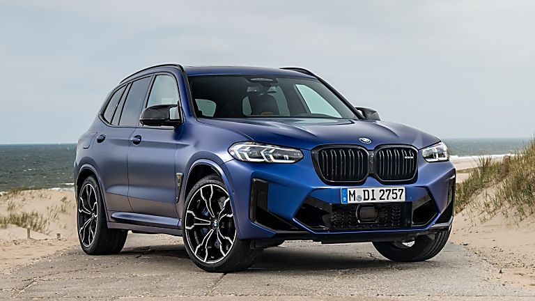 BMW: 2021 X3 and X4 M Competition models revealed X3 Front