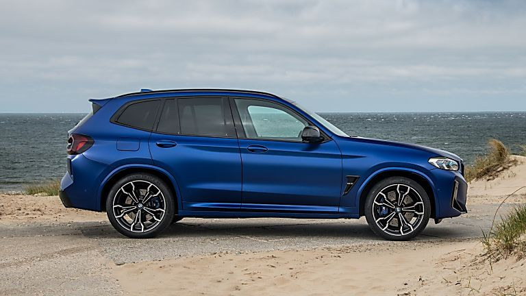 BMW: 2021 X3 and X4 M Competition models revealed X3 Side