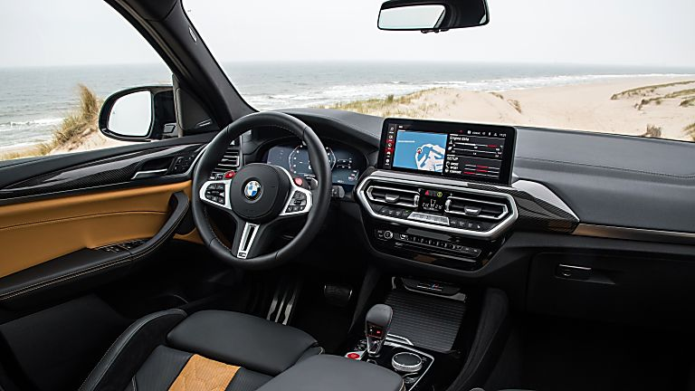 BMW: 2021 X3 and X4 M Competition models revealed Interior Front