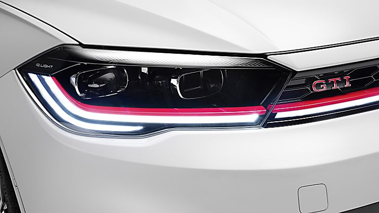VOLKSWAGEN: New 2022 Polo GTI revealed Front Close