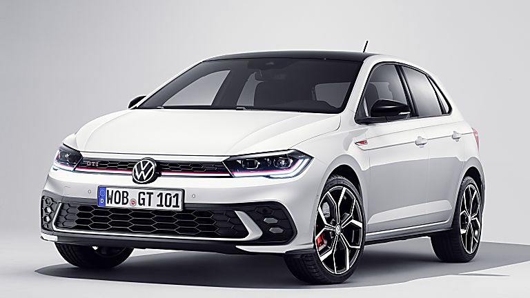 VOLKSWAGEN: New 2022 Polo GTI revealed Hero Front