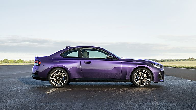 BMW: New 2 Series Coupé in Goodwood FoS debut Side