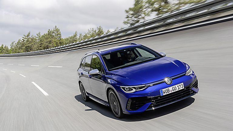 Volkswagen: All-new 316bhp Golf R Estate Hero Front
