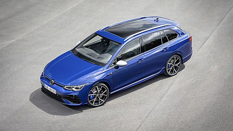 Volkswagen: All-new 316bhp Golf R Estate Front