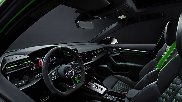 AUDI: RS 3 2022 Sportback & Saloon unveiled Interior Front