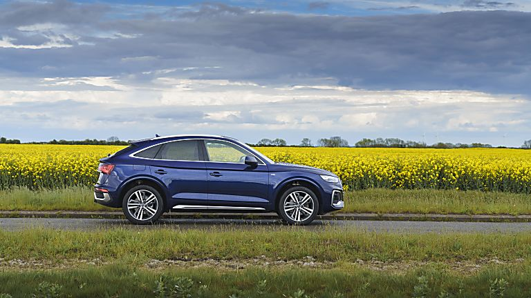 Review: Audi Q5 Sportback Side