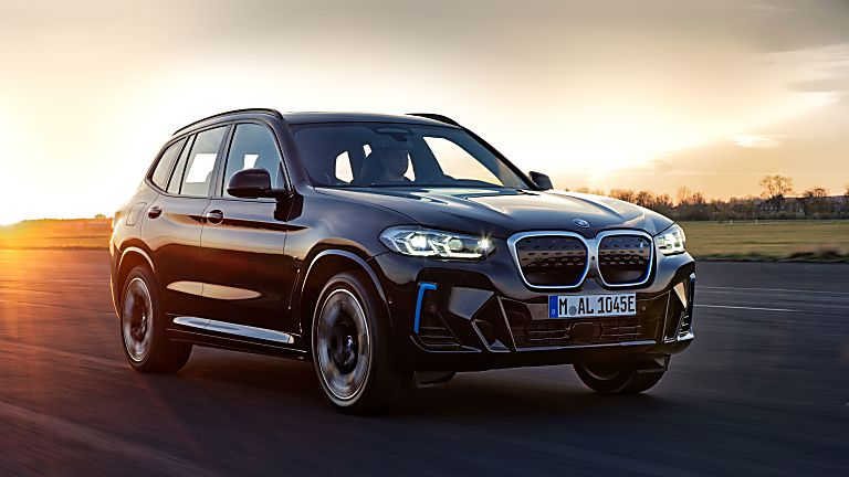 BMW: Early refresh and M Sport trim for iX3 EV Hero Front