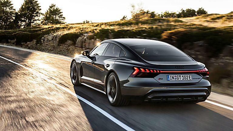 Review: Audi e-tron GT quattro Hero Rear