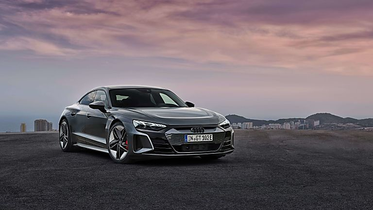Review: Audi e-tron GT quattro Hero Front