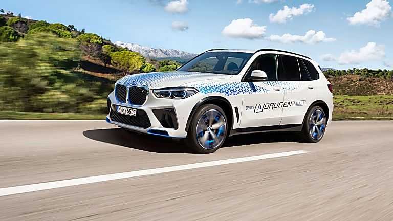 BMW: iX5 Hydrogen to get small production run On the road