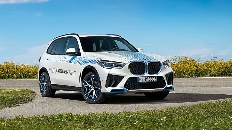 BMW: iX5 Hydrogen to get small production run Hero Front