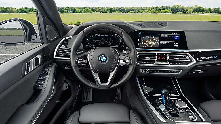 BMW: iX5 Hydrogen to get small production run Cockpit Close