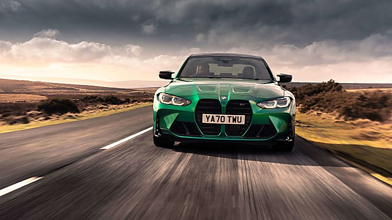 Review: 2021 BMW M3 Competition Hero Front