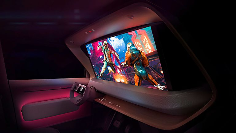 VOLKSWAGEN: Affordable ID.Life EV concept revealed Interior Screen