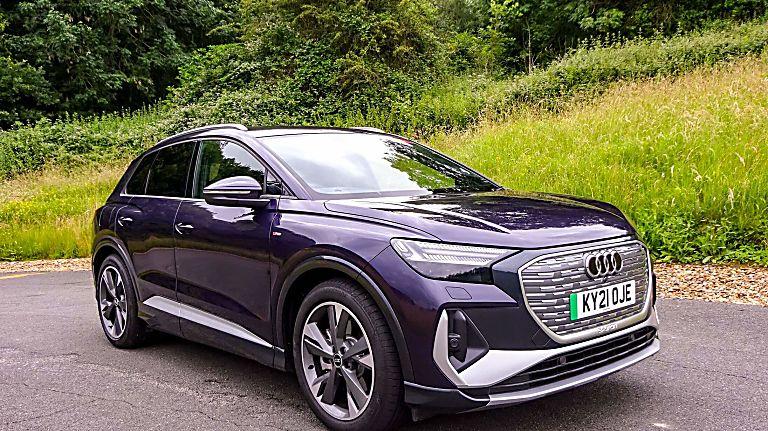 Review: Audi Q4 e-tron Hero Front
