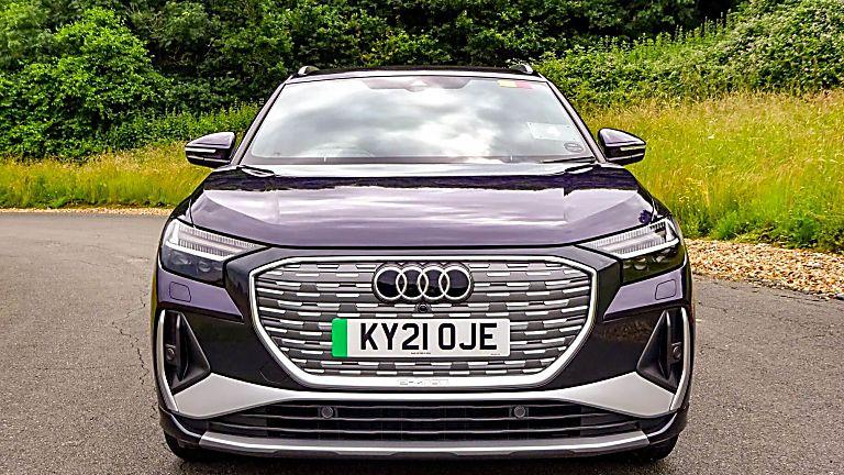 Review: Audi Q4 e-tron Front