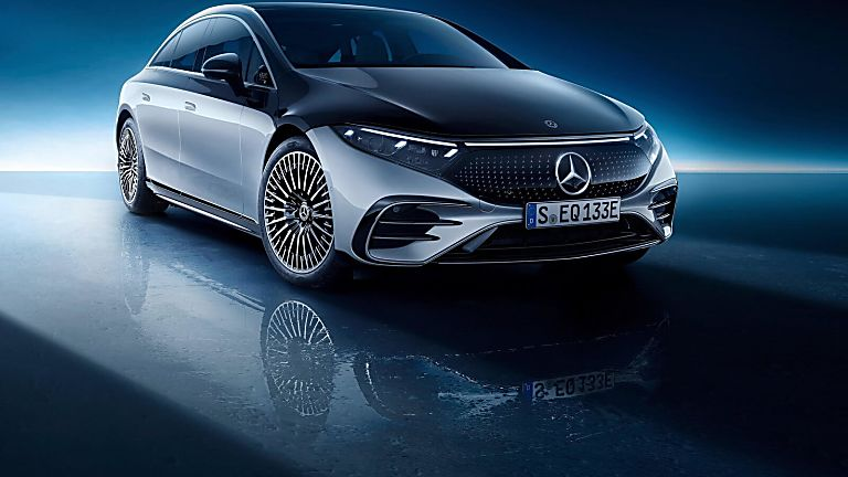 MERCEDES-BENZ: EQS saloon now on sale from £99,995 Hero Front