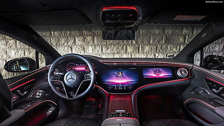 MERCEDES-BENZ: EQS saloon now on sale from £99,995 Cockpit