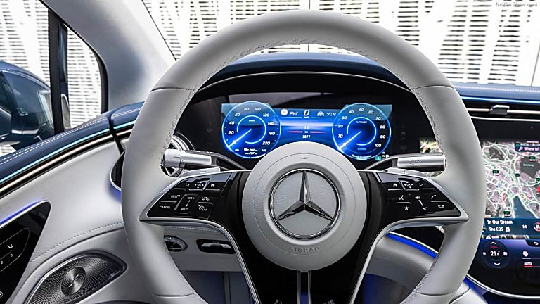 MERCEDES-BENZ: EQS saloon now on sale from £99,995 Dashboard