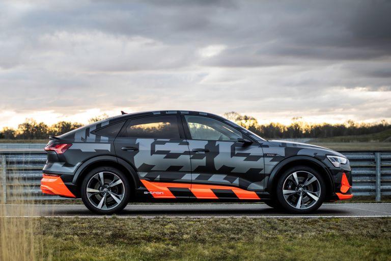 Audi E-Tron S Side