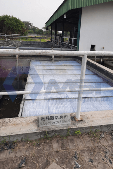 Biological Aerated Filter menggunakan Media Sarang Tawon