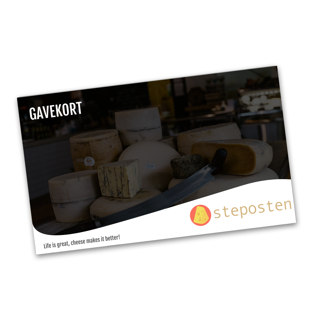Ostegaver Gavekort_ost
