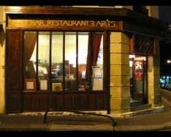 restaurant Les trois arts