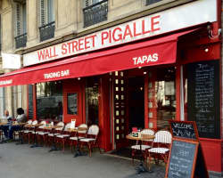 bar Wall Street Pigalle