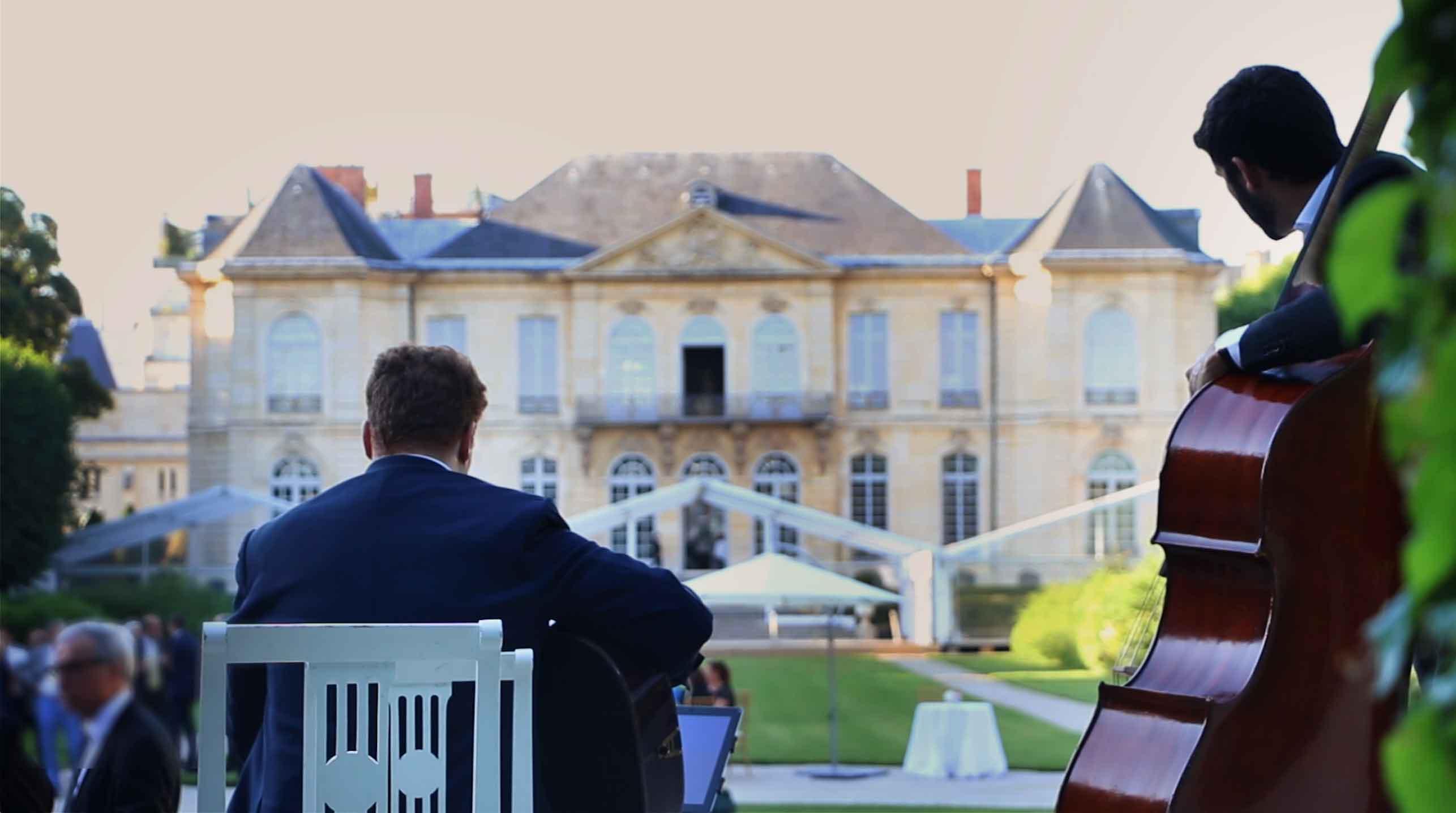 musiciens jazz vin d'honneur mariage